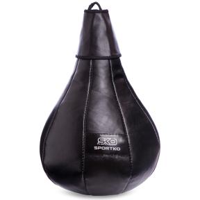 Груша боксерская подвесная SPORTKO GK-1 50x24см цвета в ассортименте