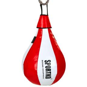 Груша боксерская подвесная SPORTKO GP-3 60x35см цвета в ассортименте