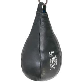 Груша боксерская подвесная LEV LV-1857 34x20см черный