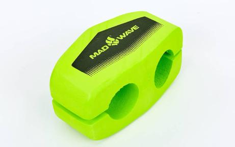 Колобашка для плавания MadWave CORE ALIGNMENT M072701 (EVA, р-р 26x13x14,5см, зеленый)