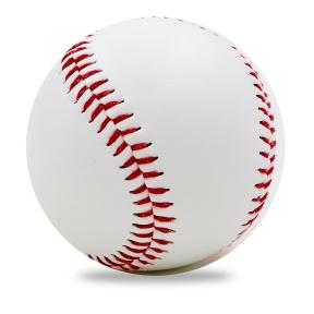 Мяч для бейсбола C-1850 (верх-PVC, сердцевина-пробка, белый)