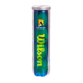 Мяч для большого тенниса WILSON (4шт) T1130 AUSTRALIAN OPEN (в вакуумной упаковке, салатовый)