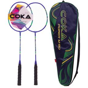 Набор для бадминтона в чехле COKA BD-80 цвета в ассортименте