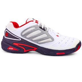 Кроссовки теннисные WILSON Tour Vision WRS981700-42 размер 41-44 EUR-42-45 белый-черный, черный-красный