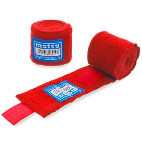 Бинты боксерские хлопок с эластаном MATSA MA-0031-3 3м цвета в ассортименте