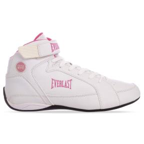 Боксерки женские EVERLAST JUMP ELW65C размер 37,5-40,5 белый-розовый