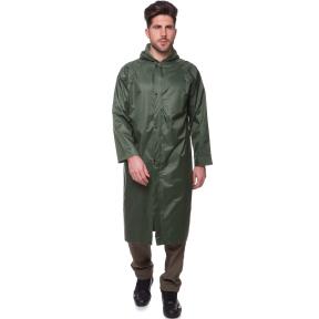 Плащ от дождя TY-0530 размер 110-120см, L-XL оливковый
