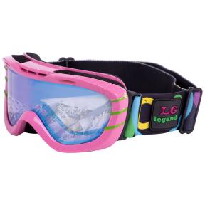 Очки горнолыжные детские LEGEND LG7051 разноцветные