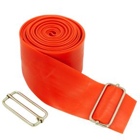 Жгут эластичный спортивный, лента жгут VooDoo Floss Band FI-3934-2_5 (латекс,l-2,5м, 5смx2мм, синий, красный)