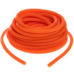 Жгут эластичный трубчатый спортивный FI-6253-6 (латекс, d-6 x 10мм, l-1000см, оранжевый)