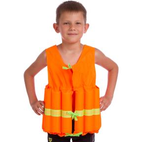 Жилет спасательный детский PL-3383-16 (EPE, PL, р-р L-11-14лет, цвета в ассортименте)