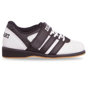 Штангетки обувь для тяжелой атлетики Zelart OB-4588 размер 40-45 белый-черный