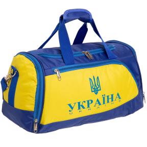 Сумка для спортзала Украина SP-Sport GA-5632-U синий-желтый