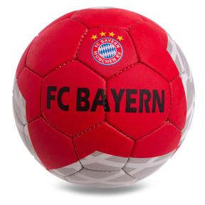 Мяч футбольный №5 Гриппи 5сл. BAYERN MUNCHEN FB-0600 (№5, 5 сл., сшит вручную)