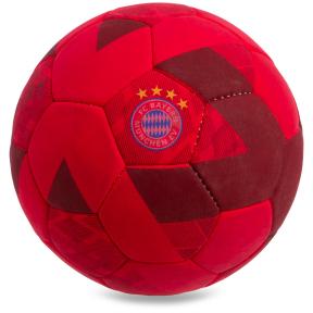 Мяч футбольный №5 Гриппи 5сл. BAYERN MUNCHEN FB-0601 (№5, 5 сл., сшит вручную)