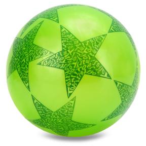 Мяч резиновый Star BA-3931 (резина, вес-70г, р-р 16-25см (6-10in),белый, синий, желтый, фиолетовый, розовый)