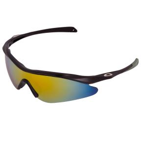 Очки спортивные солнцезащитные OAKLEY YL146 (пластик, акрил, цвета в ассортименте)
