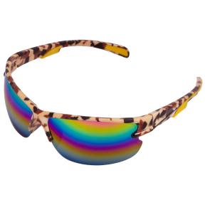 Очки спортивные Хаки LX9904 (пластик, акрил, цвета в ассортименте)