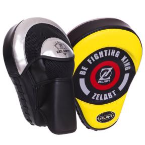 Лапа Изогнутая для бокса и единоборств BO-2885 2шт цвета в ассортименте