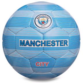 Мяч футбольный №5 Гриппи 5сл. MANCHESTER CITY FB-0137 (№5, 5 сл., сшит вручную)