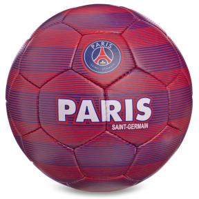 Мяч футбольный №5 Гриппи 5сл. PARIS SAINT-GERMAIN FB-0140 (№5, 5 сл., сшит вручную)