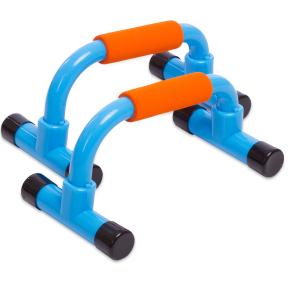 Упоры для отжиманий (2шт) FI-1580 PUSH-UP BAR (пластик, металл, ручка EVA)