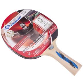 Ракетка для настольного тенниса 1 штука DONIC LEVEL 600 MT-724406 OVTCHAROV (древесина, резина)