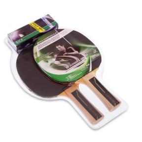 Набор для настольного тенниса 2 ракетки, 3 мяча DONIC LEVEL 400 MT-788492 WALDNER (древесина, резина)