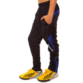 Штаны футболиста подростковые SPORTS LD-9106T (полиэстер, р-р 26-32, рост 125-155, цвета в ассортименте)