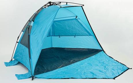 Палатка открытая 3-х местная SY-N001 (р-р 2,25х1,3х1,3м, PL, 210T PU 3000mm, цвета в ассортименте)