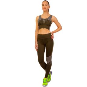 Комплект спортивный для фитнеса и йоги (лосины и топ) V&X SET2201 S-L цвета в ассортименте
