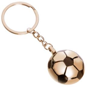 Брелок Мяч футбольный C-4961 (металл хром, d-3см, цена за 1 шт.)