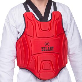 Защита корпуса (жилет) для единоборств Zelart ZB-4220 (EVA, нейлон, р-р XS-XL, цвета в ассортименте)