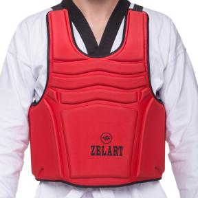 Защита корпуса (жилет) для единоборств Zelart ZB-4221 (EVA, нейлон, р-р XS-XL, цвета в ассортименте)