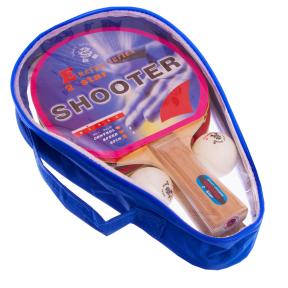 Набор для настольного теннисаGIANT DRAGON SHOOTER 2* MT-5682 2 ракетки 2 мяча чехол
