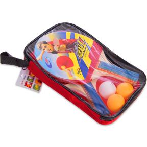 Набор для настольного тенниса 2 ракетки, 3 мяча с чехлом Macical MT-809 (древесина, резина, пластик)