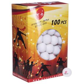 Набор мячей для настольного тенниса RECORD PRO-513 100шт цвета в ассортименте