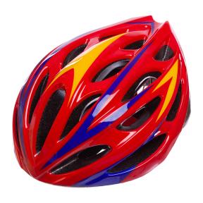 Велошлем кросс-кантри с механизмом регулировки AY-21 (EPS,пластик, PVC,р-р L-58-61,цвета в ассортименте)