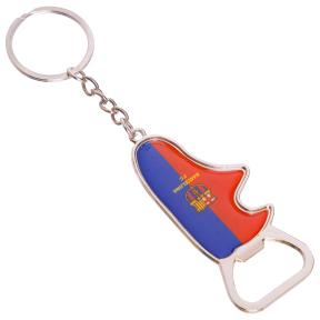 Брелок Barcelona бутса-открывашка FB-6921 (металл, хром., цена за 1шт)