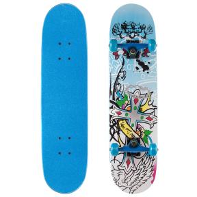 Скейтборд в сборе (роликовая доска) 880-4 (колесо-PU, р-р деки см)