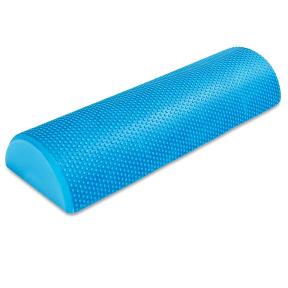 Роллер (полуцилиндр) для йоги и пилатеса массажный Zelart FI-6285-45 45см синий
