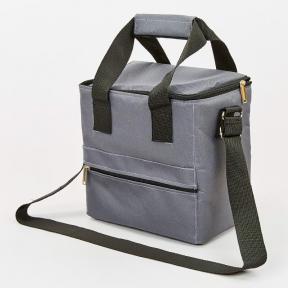 Термосумка (сумка-холодильник) 10л GA-0292-10 (полиэстер, мягая термоизоляция, р-р 25х25х16см, цвета в ассортименте)