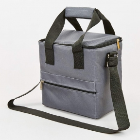 Термосумка (сумка-холодильник) 15л GA-0292-15 (полиэстер, мягая термоизоляция, р-р 25х30х20см, цвета в ассортименте)