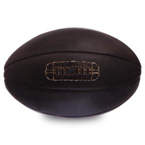 Мяч для регби кожаный VINTAGE F-0265 Rugby ball (кожа, 8 панелей)