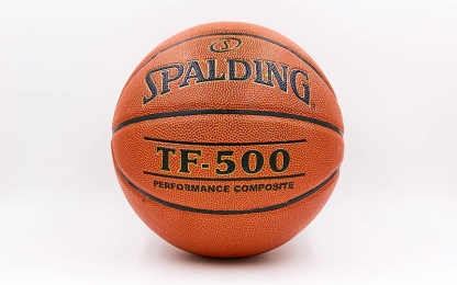 Мяч баскетбольный Composite Leather №7 SPALDING 74529Z TF-500 PERFORMANCE Indoor/Outdoor (оранжевый)