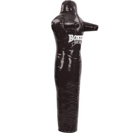 Манекен тренировочный для единоборств BOXER 1022-01 (ткань ПВХ, наполнитель-ветошь х-б, высота 150см, цвета в ассортименте)