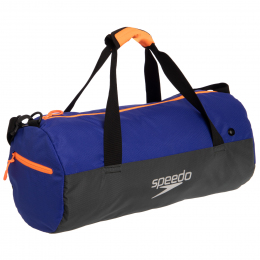 Сумка спортивная SPEEDO DUFFEL BAG 809190C299 (PL, р-р 50х24х24см, синий-серый)