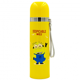 Термос стальной 500ml DESPICABLE ME2 2300 (желтый, сталь)