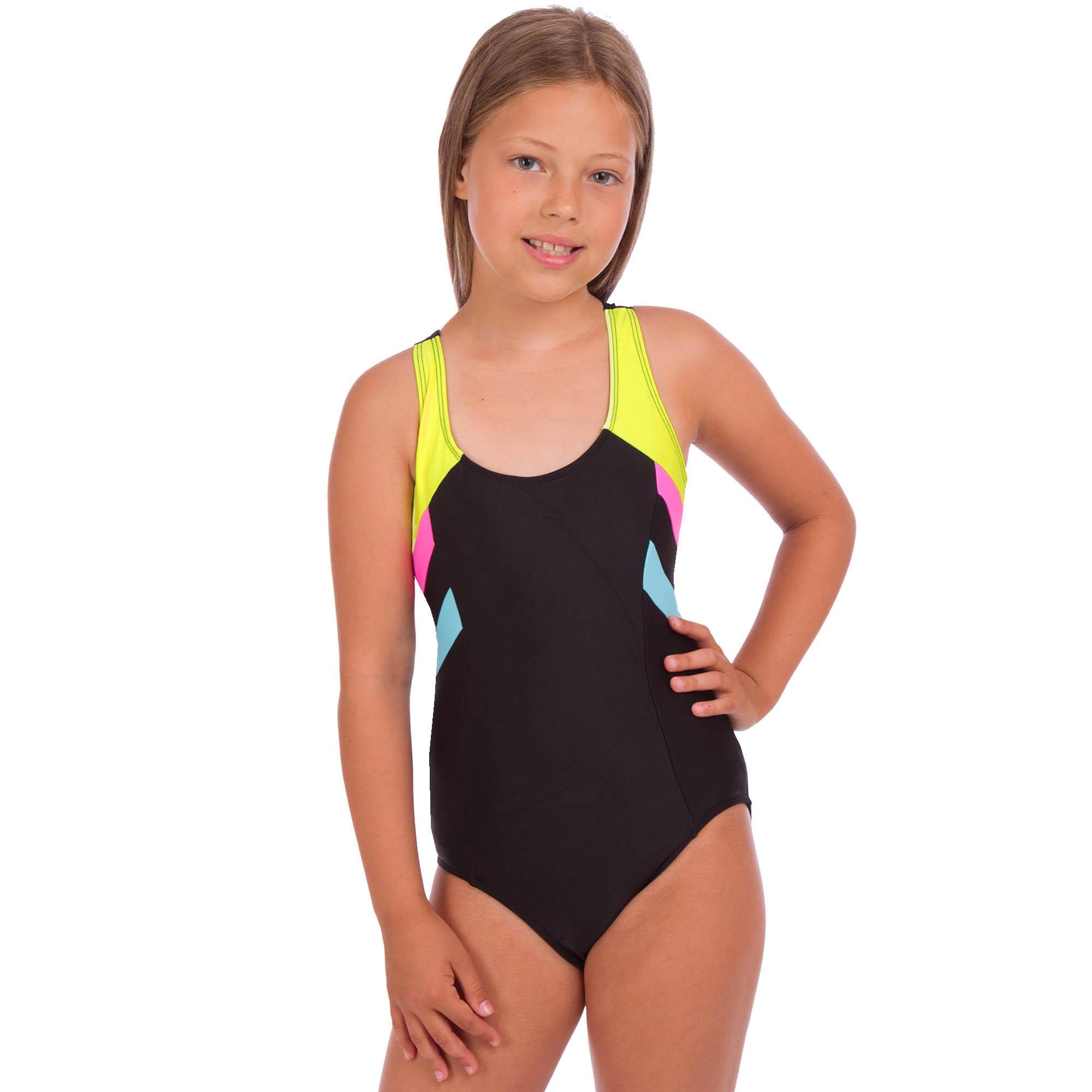 купальник слитный детский спортивный