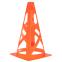 Фишка конус тренировочный с отверстиями 23см FB-6903-OTVR (пластик мягкий, h-23см, цвета в ассортименте)